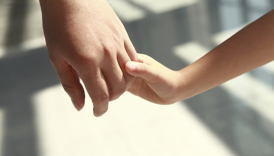 adopted children meet parents with kids