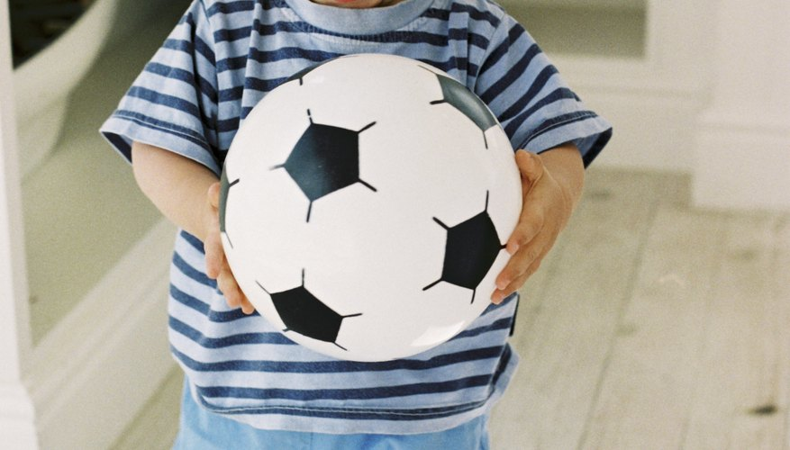 Toddlers can play soccer in Richmond.