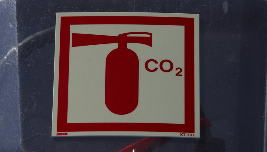 Carbon dioxide's nonflammable nature makes it useful in some fire extinguishers.