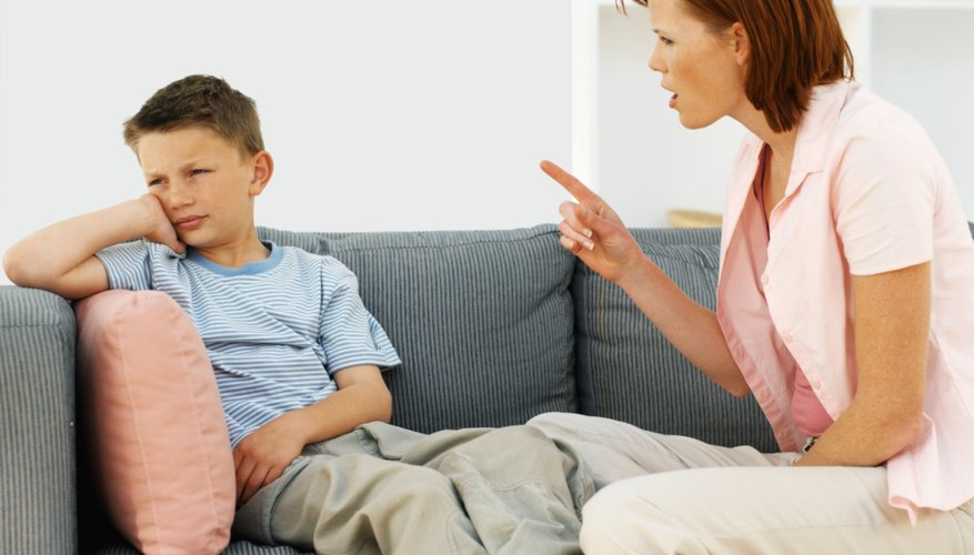 Anger can cause parents to say things they regret.