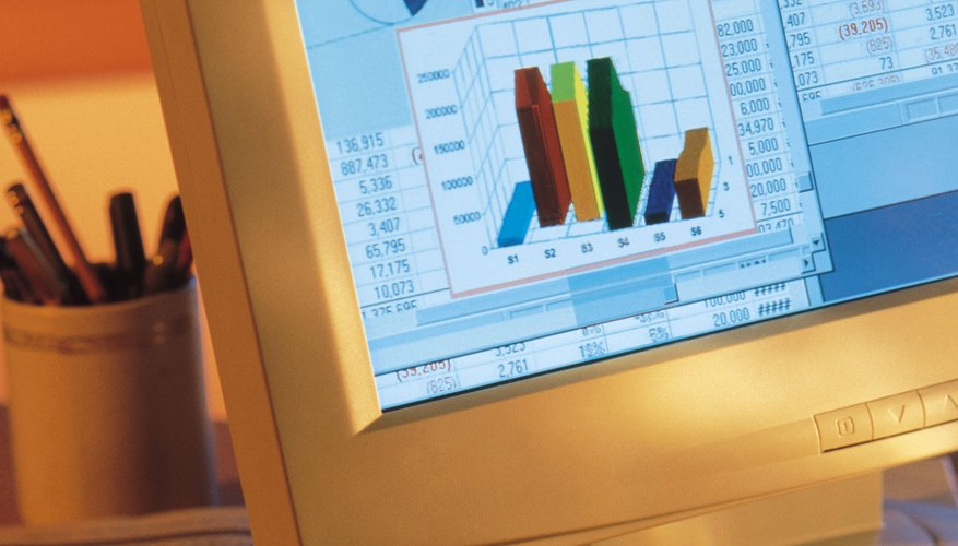 Spreadsheets offer custom graphing and analysis options for personal financial management.
