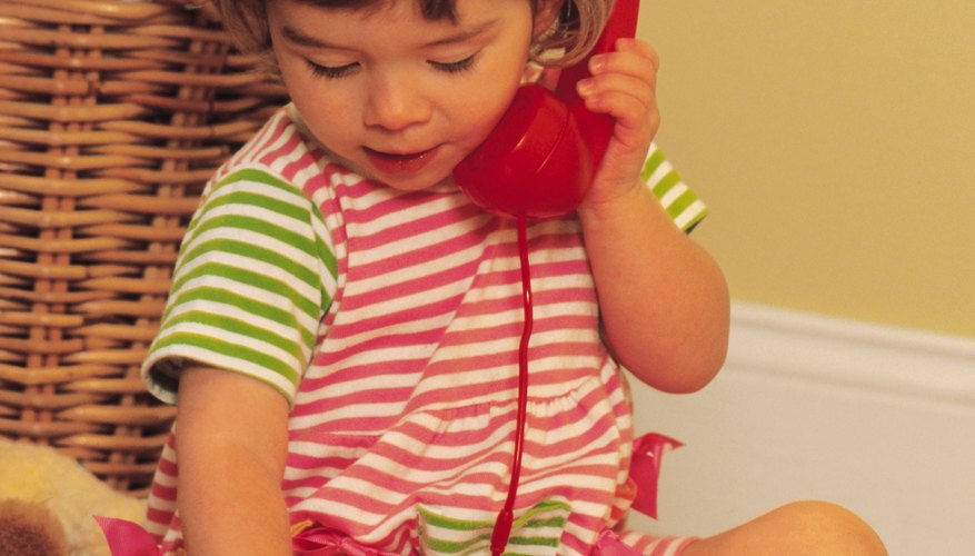 Toddlers are often hard to understand when they first begin talking.