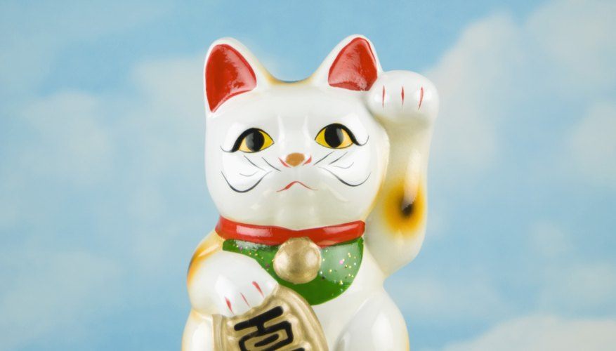 Porcelain cats from important dynasties can be valuabe.