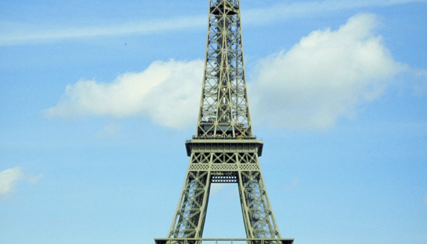 The Eiffel Tower attracts more than 6 million annual visitors.