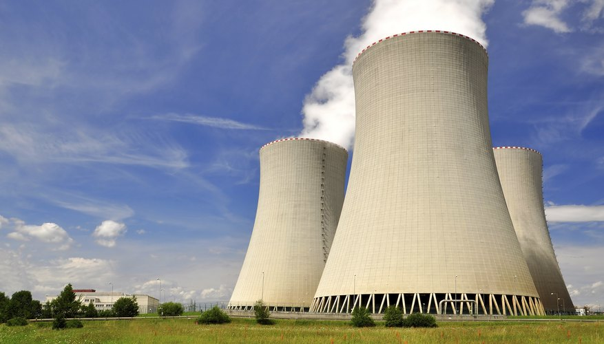 A nuclear power plant in the Czech Republic.