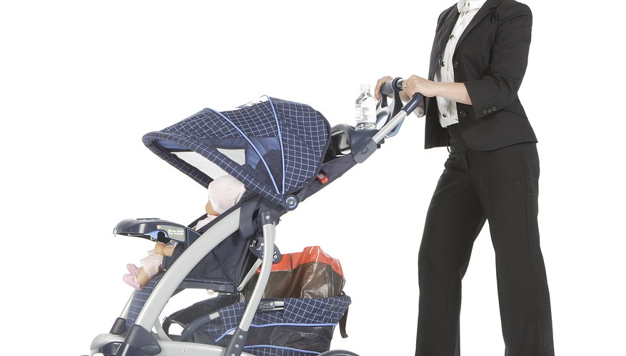 A stroller canopy protects your baby from sun and rain.