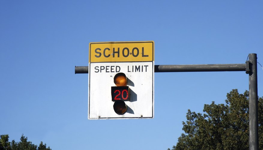 Special speed limits are allowed near schools in Ohio.