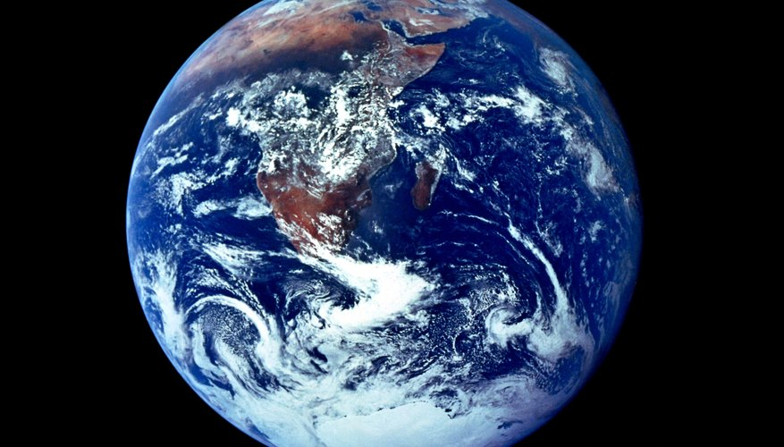 Earth's early atmosphere contained no oxygen.