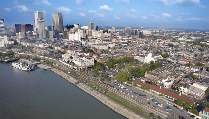 New Orleans is situated in the Gulf Coastal Plain.