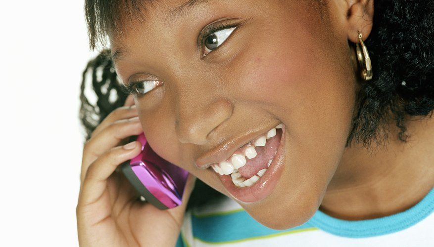 Cell phones can enable effective monitoring and tracking of children.