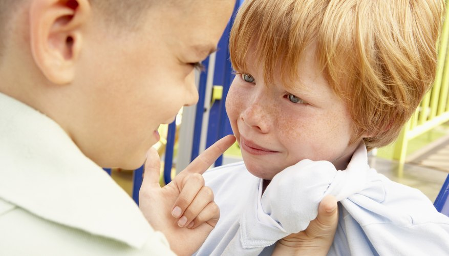 Bullying is a good example of antisocial behavior.