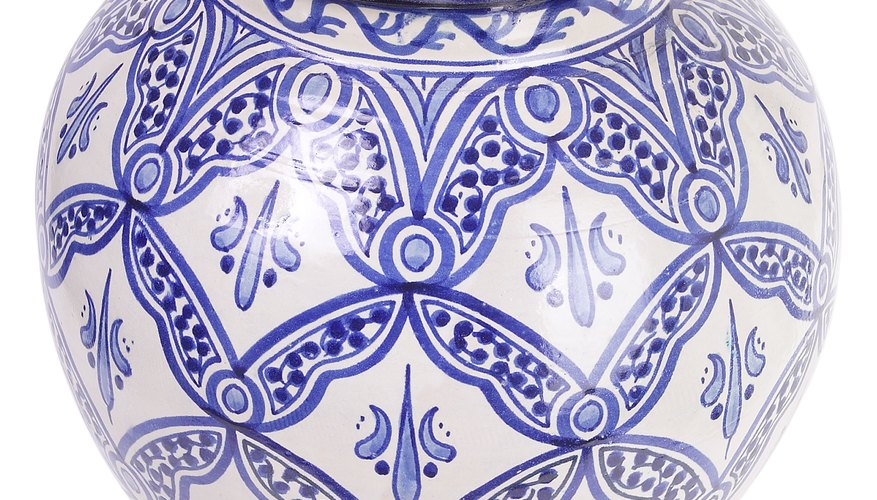 blue and white Canton ware