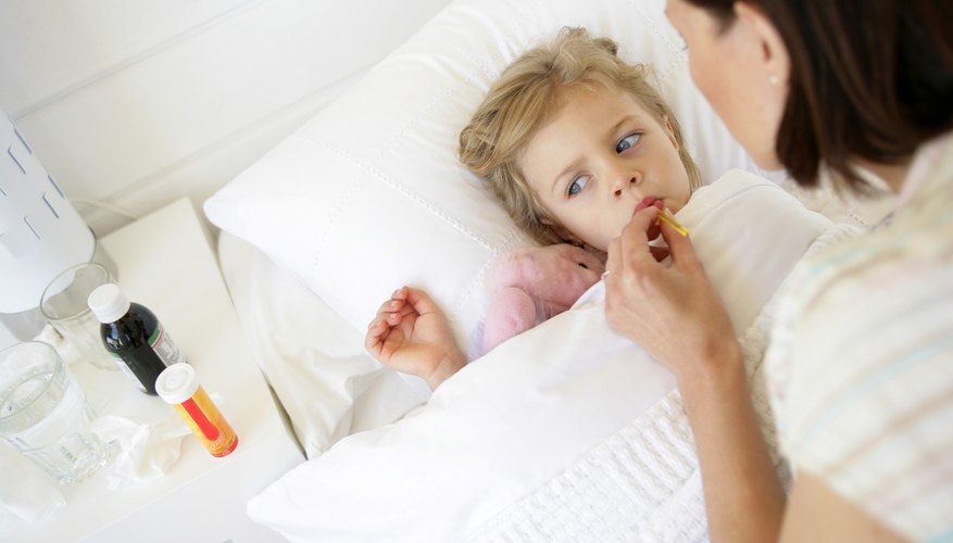 A fever can cause you to worry and make your child miserable.