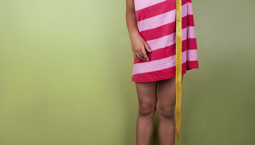 The average height for a 9-year-old-girl in the U.S. is 4 foot 4 inches.