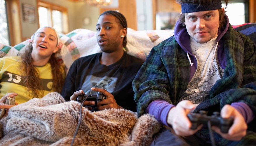 Playing violent video games can be entertaining for many teens.