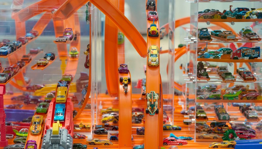 Hot Wheels offered race track playsets first, creating a new collectible for toy car enthusiasts.