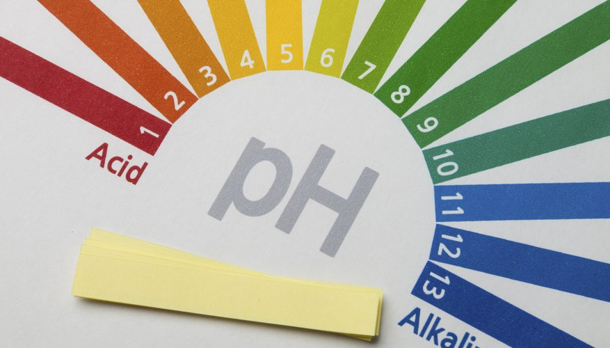 Enzymes have a pH range in which they operate most efficiently.