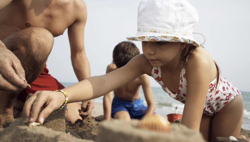 Have a sandcastle-building competition at the beach or in the backyard sandbox.