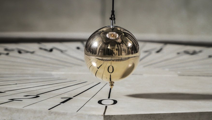 The pendulum at the Pantheon in Paris.