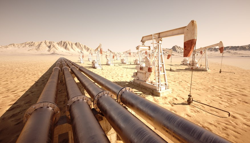 An enormous amount of oil and natural gas is hidden beneath the Sahara Desert