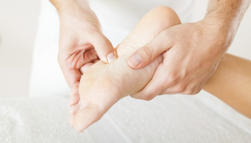 The ankle is the connective joint between the lower portion of the leg and foot.