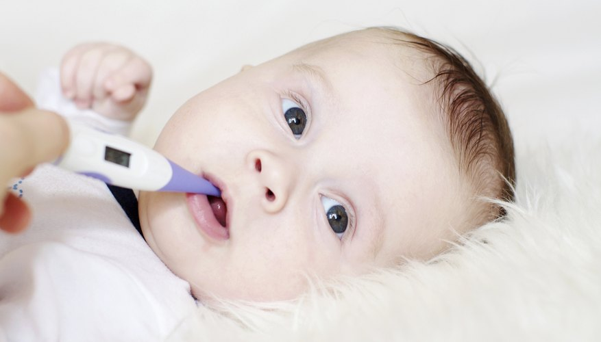 Ease your baby's cough with steam, saline or a warm liquid.