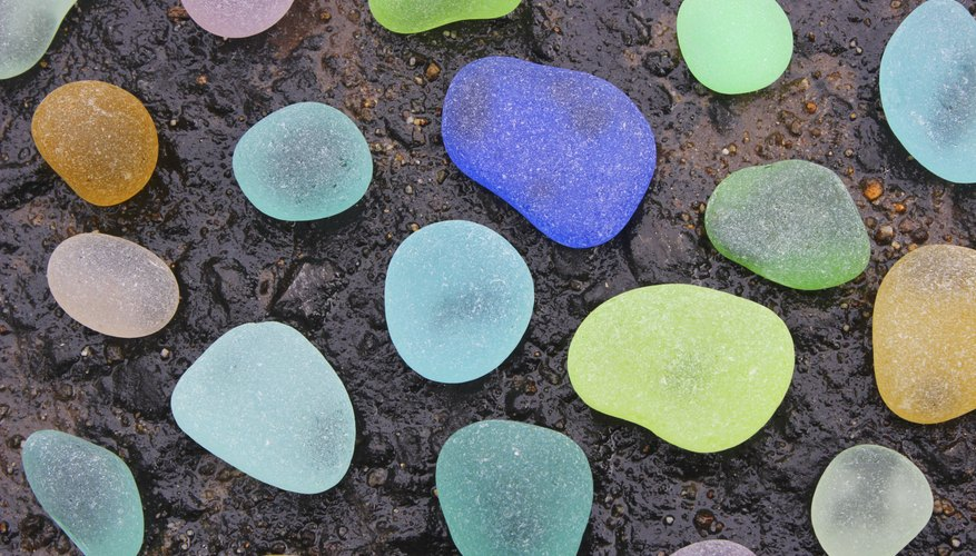If you want large quantities of sea glass contact a supplier.
