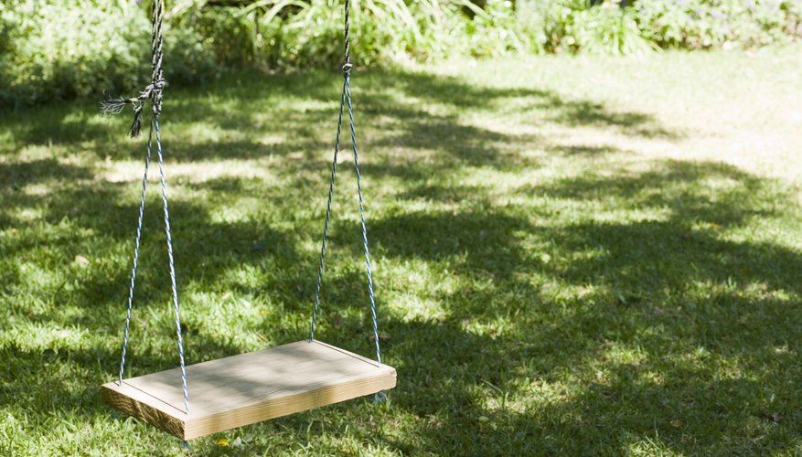 The complexities of a Rainbow play set make it far more difficult to construct than a typical backyard swing.