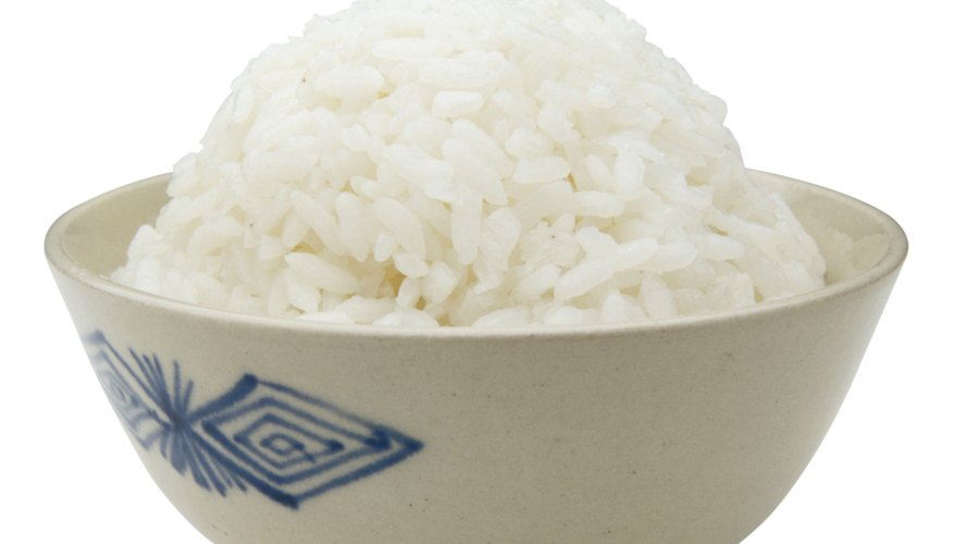 Alternate giving your child white rice and other rices.