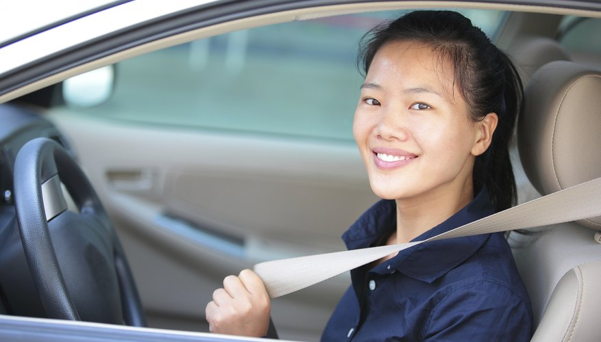 Seat belts ensure that you stop at the same time that your car does.
