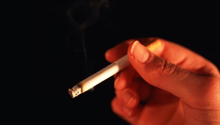 Smoking may cause eczema outbreaks in babies.
