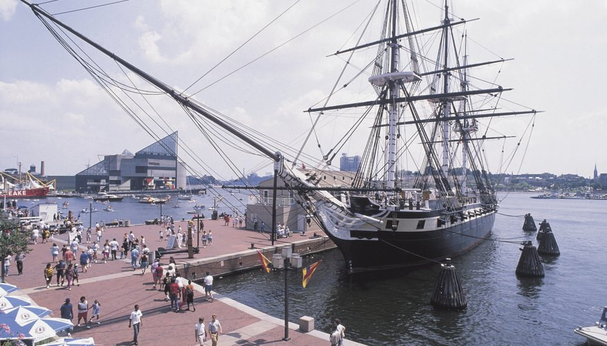The Baltimore Harbor is the epicenter of entertainment in Baltimore.