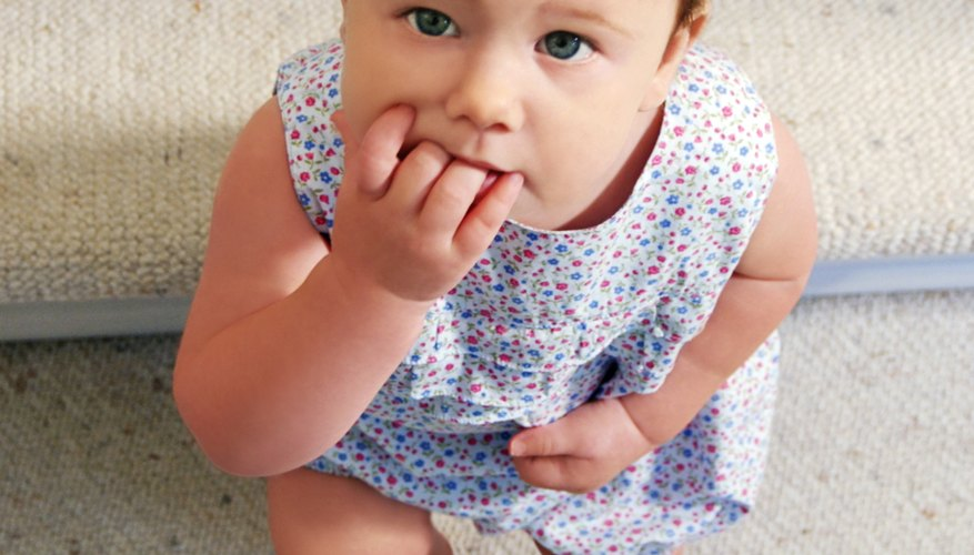 Cutting molars can make your toddler cranky and irritable.