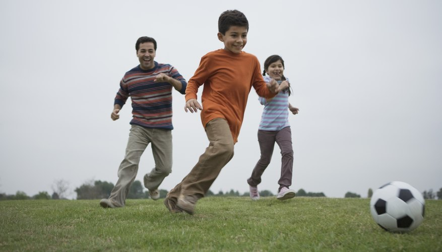 Your child is learning the basics of movement during physical education activities.