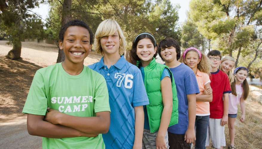 Teen summer camp will keep your teens active.