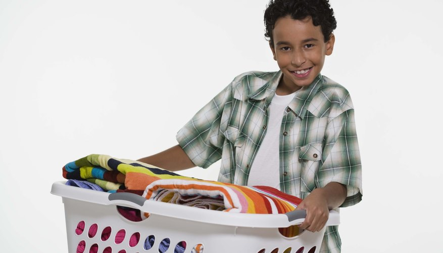 Let your child help choose his chores to make him feel like he has a voice in the matter.