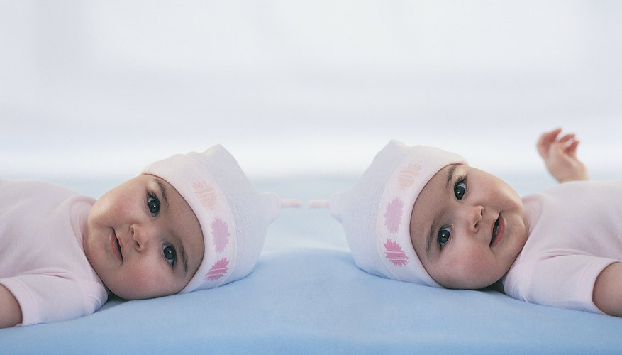 Some companies offer free products to families with twins.