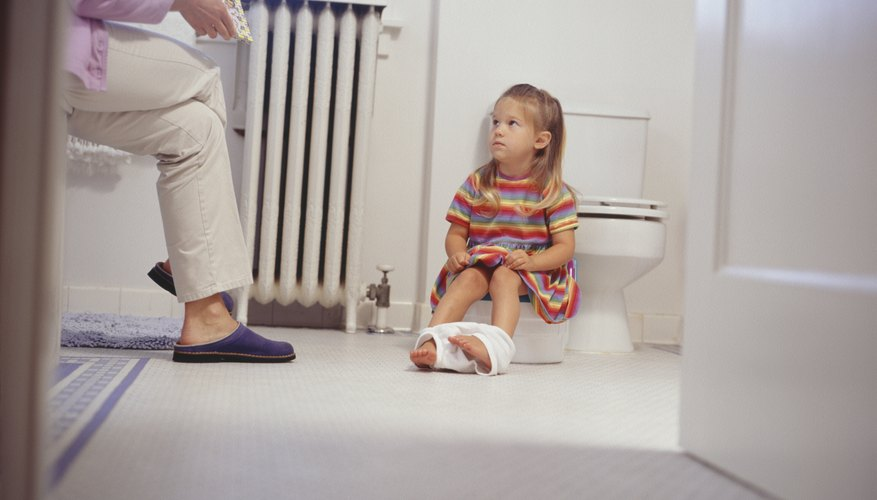 Little girls tend to potty train faster than little boys.