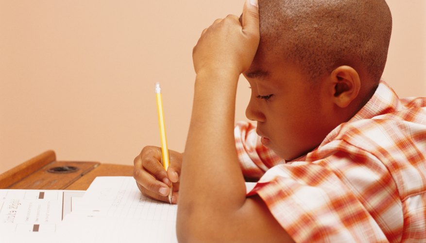 Practicing test-taking at home may help your child perform well at school.