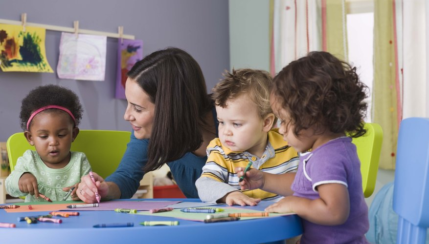 Using crayons to represent different skin tones is one way toddlers can learn about diversity.