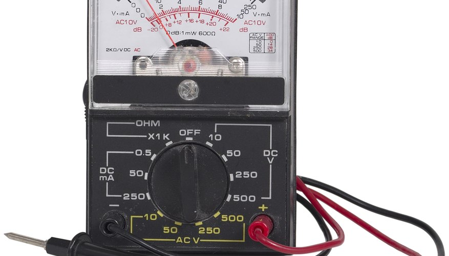 How To Read A Voltmeter >> How to Use a Volt Meter to Check Portable Generator Output | Sciencing