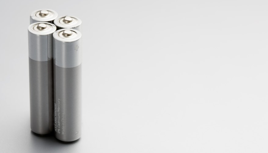 Batteries have an electrolyte separating their terminals.