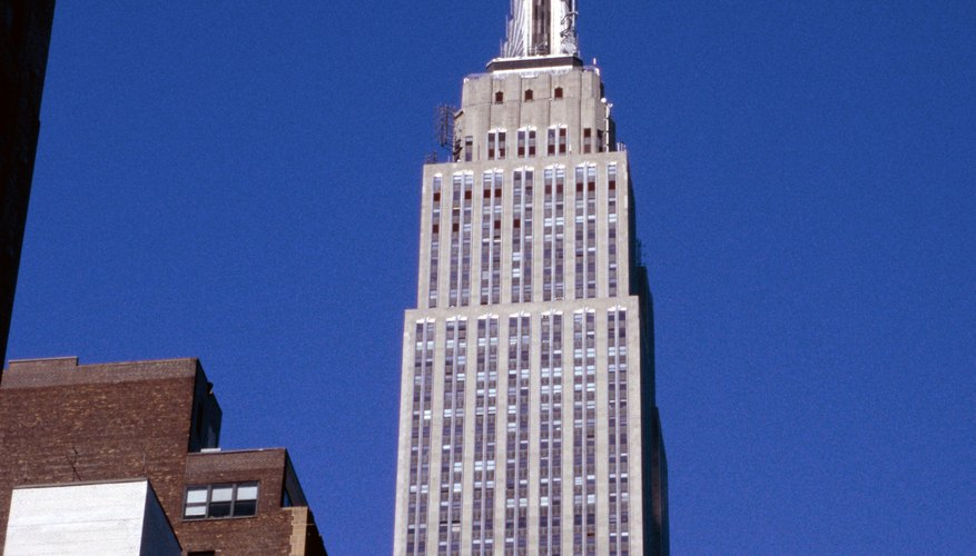 The Empire State Building (1931) is one of the most famous stainless steel projects in the United States.