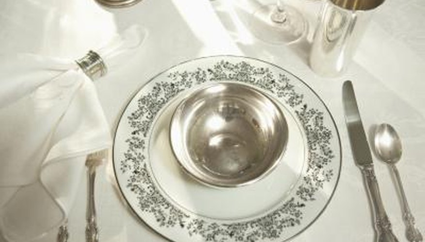 Silver plating is used most frequently in tableware.
