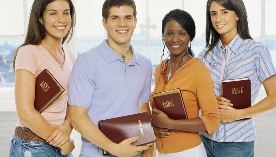 Teens can participate in a school-based faith group each morning.