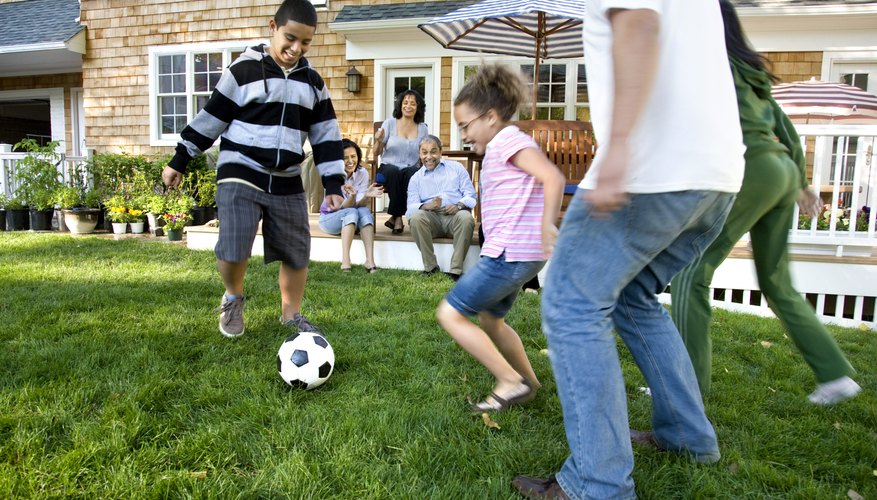 Staying active as a family sets a positive example for your children.