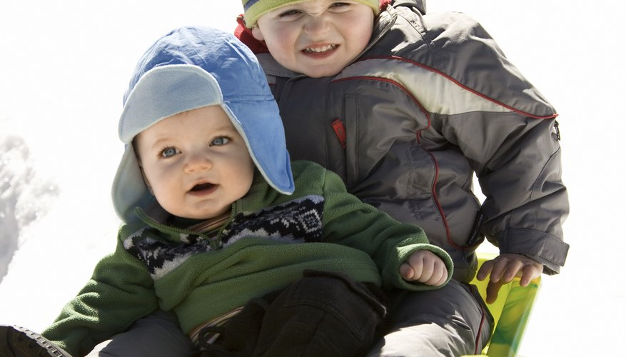 Babies and small children are susceptible to frostbite.