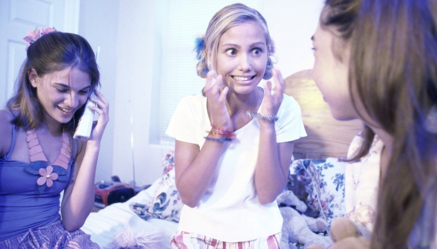 Slumber party games for teens add fun and suspense.