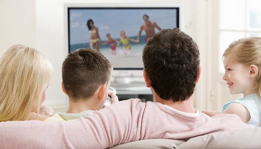 Watching TV as a family is an opportunity to discuss values.