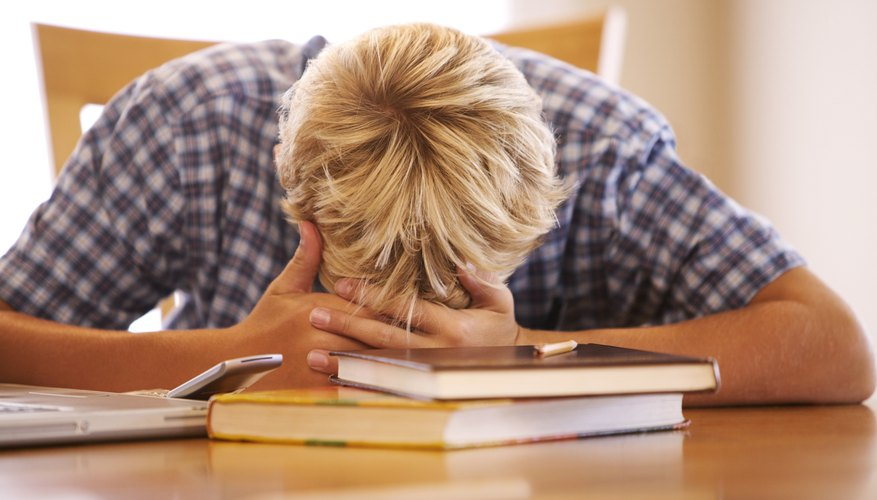 Help your teen blow off steam when he's stressed about school.